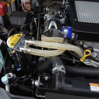 SUSオイルキャッチタンクは耐久性、耐錆に強いステンレス素材を採用。美しいポリッシュ仕上げで、エンジ...