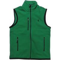 ラルフローレン ワンポイント フリースベスト グリーン Polo Ralph Lauren 131|shufflestore