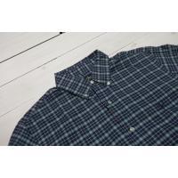 ラルフローレン 長袖 ワンポイント ボタンダウンシャツ チェック セルリアンブルー Polo Ralph Lauren 1065
