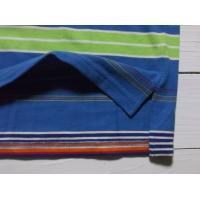ラルフローレン ボーイズサイズ 半袖 ボーダー ワンポイント 鹿の子 ポロシャツ サックス Polo Ralpuren boys 130
