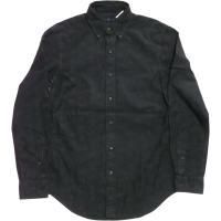 ラルフローレン 長袖 ボタンダウンシャツ ペーズリープリント ブラック Polo Ralph Lauren 614 shufflestore 02