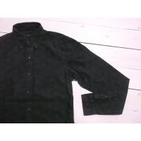 ラルフローレン 長袖 ボタンダウンシャツ ペーズリープリント ブラック Polo Ralph Lauren 614 shufflestore 03