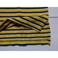 ラルフローレン 半袖 ワンポイント ボーダー 鹿の子 ポロシャツ イエロー Polo Ralph Lauren 928