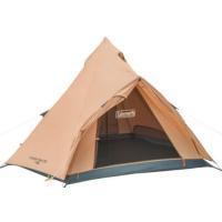 開閉時テント内に雨の浸入を防ぐ前室を備えたシンプル構造のティピー型テント  耐水圧:約1,500mm...