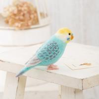ハマナカ アクレーヌでつくるかわいい小鳥 セキセイインコ パステルカラー H441-525 | クラフト 手芸キット 羊毛フェルト フェルト マスコット|期間限定SALE|