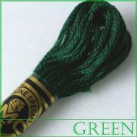刺繍 刺しゅう糸 DMC 25番 グリーン系 500 ししゅう糸 刺繍糸 ディー・エム・シー DMCの糸