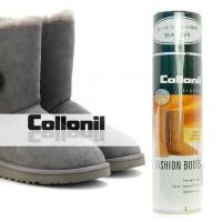 ■ブランド:collonil ■特長 ・フッ化炭素樹脂が皮革繊維に深く浸透し通気性を損なわず防水効果...