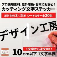 ●屋外耐候シートです。屋外使用OK!実店舗プロショップの製作だから安心。  ●文字サイズに必要な文字...