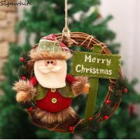 選べるクリスマス リースLサイズ インテリア 玄関 部屋 ドア 飾り クリスマスツリー クリスマス リース 北欧 おしゃれ 20cm26cm30cm