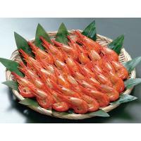 【新物は9月上旬から出荷を開始します】 締りの良い身に抜群の旨味を秘めた北海シマエビは、北海道を代表...