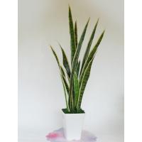 観葉植物 造花 サンセベリアの鉢植85 DG フェイクグリーン CT触媒