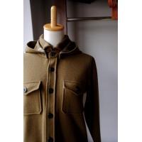 The Superior Labor シュペリオールレイバー cpo hoodie jacket  khaki
