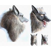 オオカミマスク 狼面 お面 マスク 動物 アニマル