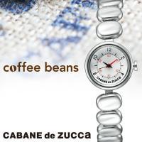 コーヒー豆の形状を再現したブレスレットや、古いバリスタマシーンのようなレトロなダイヤル、 コーヒー豆...