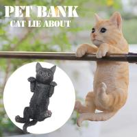 リアルな造形が本物と見間違えてしまうPET BANK貯金箱。 前足部分が引っ掛けられるようになってい...