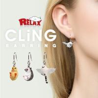 CLiNGシリーズより小さくて可愛いピアスの登場。 あなたの耳元でゆらゆら揺れつつ、ぶら下がります。...