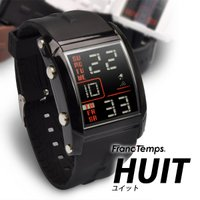 メンズ腕時計 人気 フランテンプス ランキングに常連のユイット HUITにボーイズサイズ 腕時計! ...