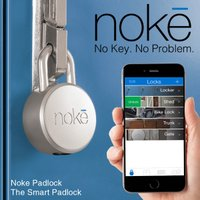 「Noke/ノーキ」は、今までに無かった南京錠です。専用アプリでBluetoothに接続し、接近する...