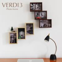 壁掛け、スタンド、縦横自由に飾れるフォトフレーム「VERDI3」です。 奥行きがあるフレームなので、...