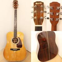 仕様)アコースティックギター  今では希少材のハカランダが使用された日本製のモーリスです。 サイズ)...