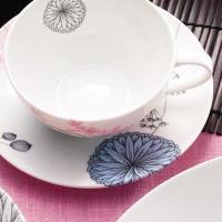 アウトレット/エリーノデザイン/ティーカップ&ソーサー 320ml(北欧/陶器 磁器 食器)
