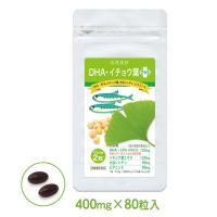 商品内容:DHA・イチョウ葉プラス  青魚に多く含まれる成分DHA・EPAにイチョウ葉エキスを同量の...