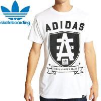 アディダス Tシャツ ADIDAS SKATEBOARDING D2D REAGUE TEE ホワイト NO8