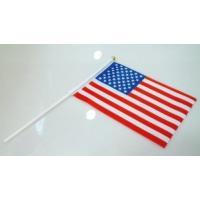 [製品仕様]  デザイン:アメリカ  サイズ  ・旗:(約)21×14cm  ・持ち手:(約)30c...
