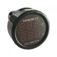 ・測定電圧:0-30V ・測定温度:-10-60℃ ・入力電圧:12-24V