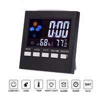 【大きく見やすいデジタル表示の温湿度計】表示温度範囲:0°C ~ + 50°C(最小単位0.1℃)、...