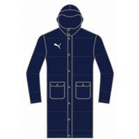 袖口インナーカフス、両サイドのアウトポケットが特徴のロングダウンコート。 素材:表地/タフタ(ポリエ...