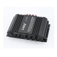 LEPY 高品質 重低音 HIFI デジタルアンプ オーディオアンプ 2×40Wのメイン出力 (電源付き) LP-168S