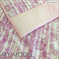 【商品詳細】 東京西川MY MODELの洗える合繊肌掛けふとんです。軽くてさらさら♪襟と体に当たる裏...