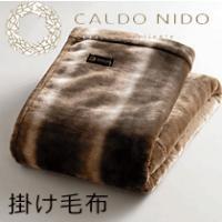 ディーブレス 毛布 CALDO NIDO カルドニード ノッテ 掛け毛布 ダブル180×200cm 快眠博士 sleeproom