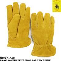 昔からバイカーから支持率の高いナパグローブのヘビーデューティーな牛革スエード手袋です。  こちらはボ...