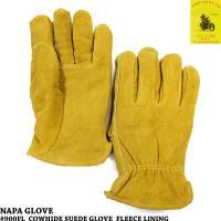 昔からバイカーから支持率の高いナパグローブのヘビーデューティーな牛革スエード手袋です。  こちらはシ...