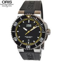 ORIS、オリス腕時計 【型番】  アクイス、73376534127R 【カラー】  ブラック文字盤...
