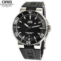 ORIS、オリス腕時計 【型番】  アクイス、73376534154R 【カラー】  ブラック文字盤...