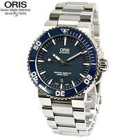 ORIS/オリス 腕時計 【型番】  73376534155M アクイス 【カラー】  ネイビー文字...