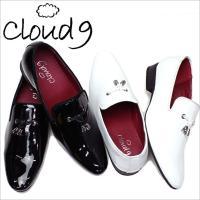オペラパンプス 靴 エナメルシューズ cloud9 紳士靴 ( cloud9 靴 ビジネスシューズ ...