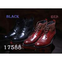◆品番:17588bk/17588red ◆カントリー調ブーツ ◆アッパー:本革×スエード ◆アウト...