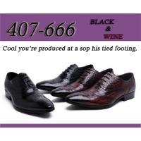 ◆品番:407-666bk/wine ◆ビジネス・カジュアル ◆アッパー: 本革 ◆アウトソール: ...
