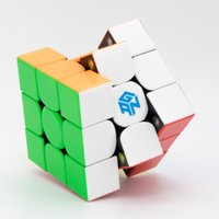GAN354 M ステッカーレス [GAN] 磁石内蔵3x3x3競技用スピードキューブ