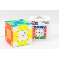Little Magic 4x4x4 M ステッカーレス [YuXin] 磁石内蔵4x4x4競技用スピードキューブ