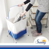 カラフル&かわいいデザインでお洗濯の時間を楽しくするSunnyランドリーシリーズ。 こちらはコンパク...