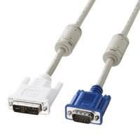 ●メーカー名:サンワサプライ ●商品名:DVIケーブル(アナログ) ●型式:KC-DVI-HD1K2...