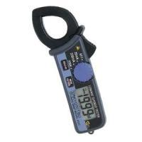 ・小型高性能漏れ電流クランプメータ ・AC20/200mA/200Aの3レンジ切換 ・周波数切換機能...
