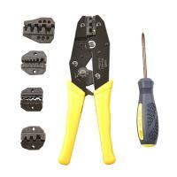 ・試作、コンタクトを結線するとき便利な手動式圧着工具です。  ・取替えトップセットやネジ回し付き、圧...