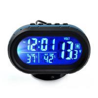 □主な機能  ■ 時計、車内外気温度計、バッテリー電圧計、アラームの4つの機能を一つにまとめ!  ■...