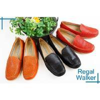 【REGAL WALKER リーガル ウォーカー】  HA60 レザーカットスリッポン☆  BL(ブ...